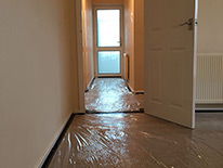 Job Preperation - Laying Floor Protection